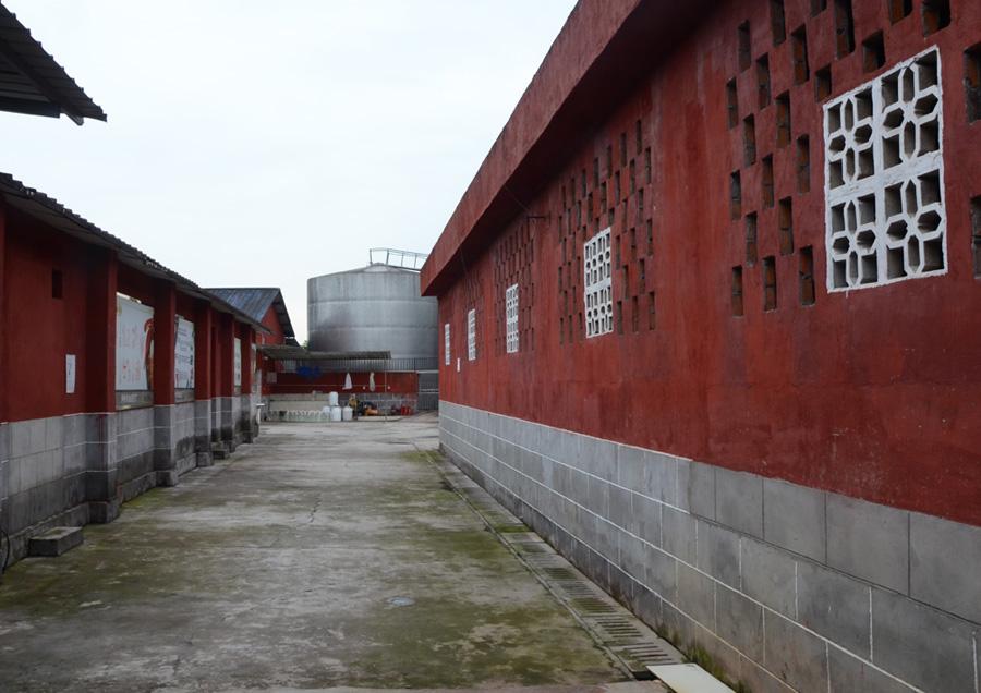 厂区生产环境